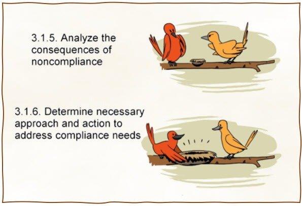 non-compliance cartoon
